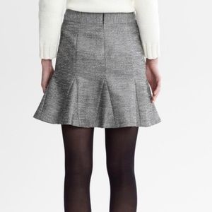 NWT Silver Banana Republic mini skirt